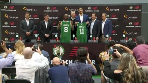 Kemba Walker & Enes Kanter Introductory Press Conference