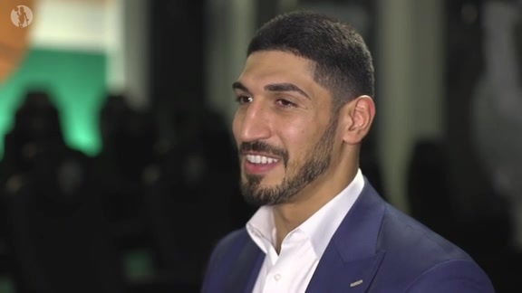 Exclusive Enes Kanter 1-on-1