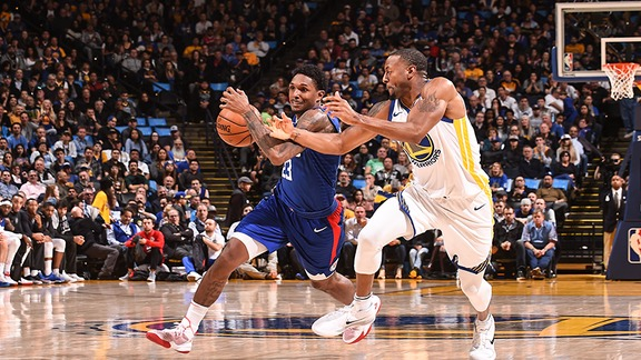 Kia Performance of the Game: Lou Williams Scores Career-High 50 Points against the Warriors