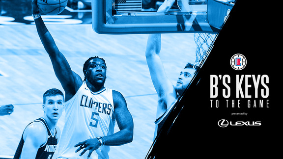 B's Keys: Clippers vs. Kings