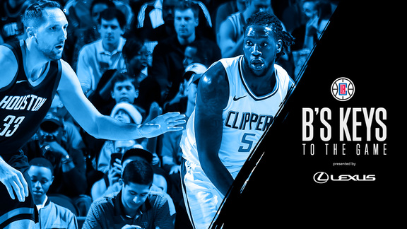 B's Keys: Clippers vs Rockets