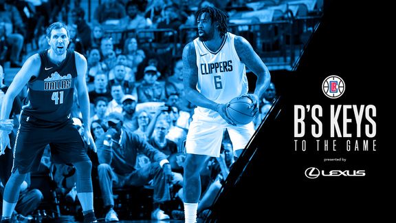 B's Key's: Clippers vs Mavericks