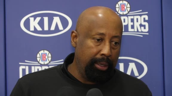 Practice Chat: Mike Woodson | 02/07/18