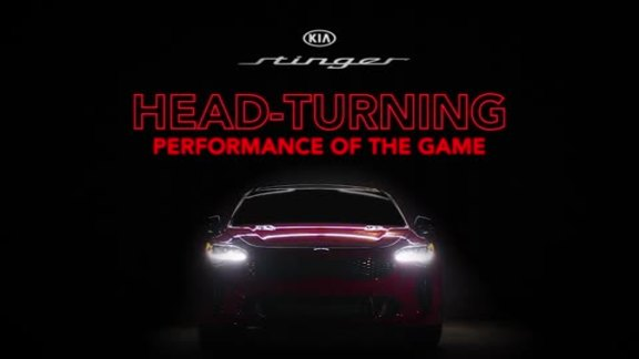 Kia Stinger Head Turning Performance of the Game