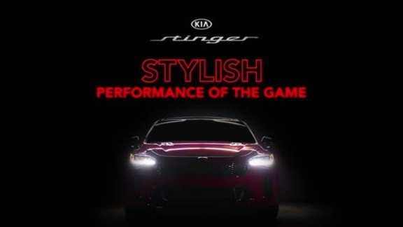 Kia Stinger Stylish Performance of the Game