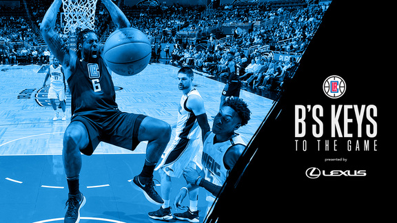 B's Keys: Clippers vs Magic