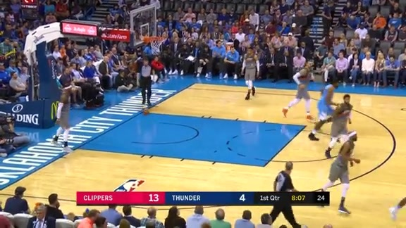 3-pointer by Austin Rivers