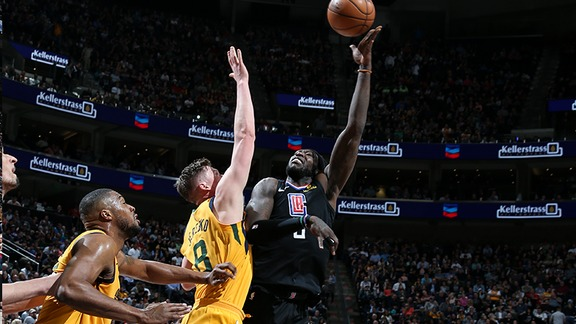 Clippers vs Jazz Full Highlights | 04/05/18