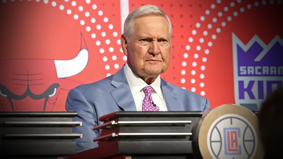 2018 NBA Draft Lottery - Jerry West Interview