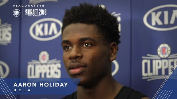 Draft Workouts: Aaron Holiday - 6/13/18