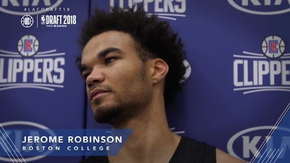 Draft Workouts: Jerome Robinson - 06/17/18