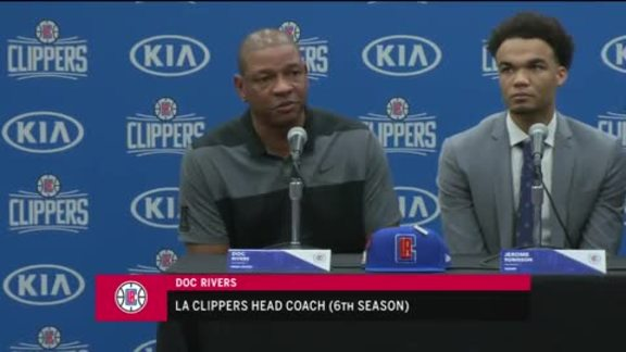 Rookie Introductions: Doc Rivers | 6/25/18