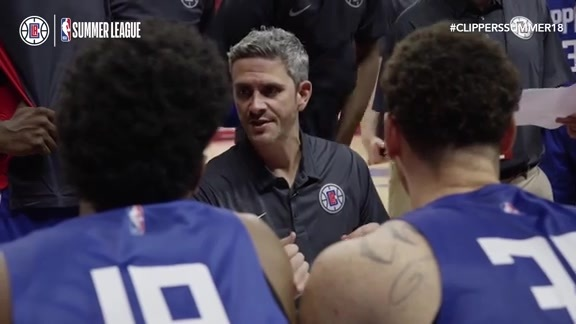 Mic'd Up: Head Coach Casey Hill - 2018 NBA Summer League