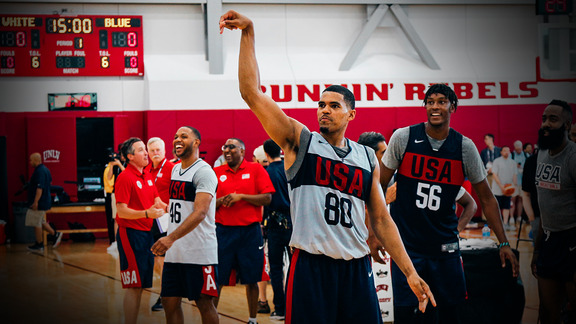 Team USA Minicamp - Day 1