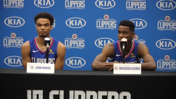 Media Day 2018 | Rookies talk about development from summer league