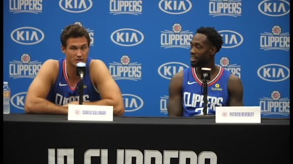 Media Day 2018 | Gallo and Pat Bev are healthy and excited for season