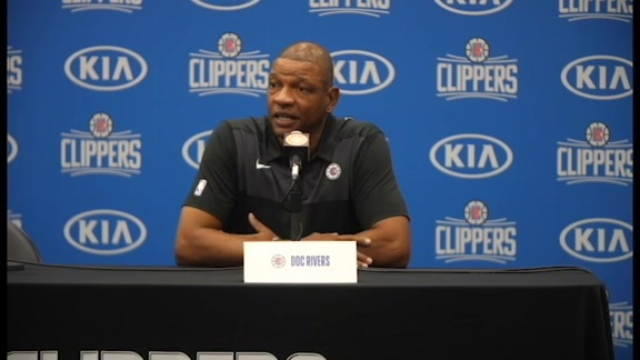 Media Day 2018 | Doc Rivers talks Tobias Harris and training camp