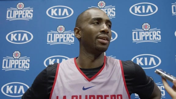 Luc Mbah a Moute Media Availability | September 27