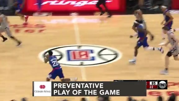 Cedars-Sinai  Preventative Play of the Game | Clippers vs. Spurs (11.15.18)