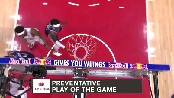 Cedars-Sinai Preventative Play of the Game | Clippers vs. Knicks (3.3.19)