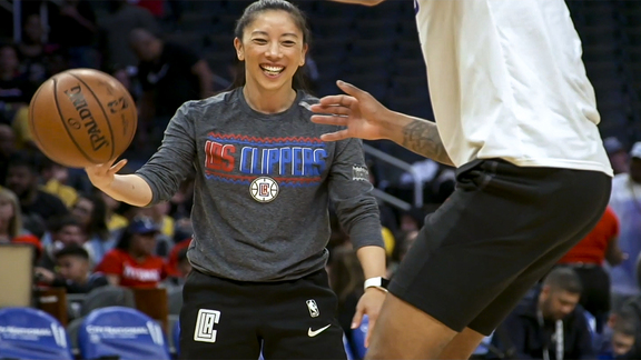 Clippers Career Spotlight Episode 3: Assistant Coach Natalie Nakase