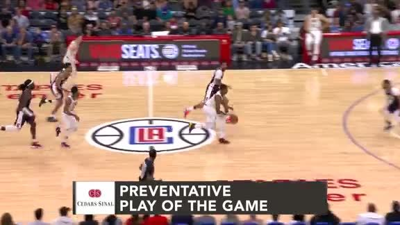 Cedars-Sinai Preventative Play of the Game | Clippers vs. Grizzlies (3.31.19)