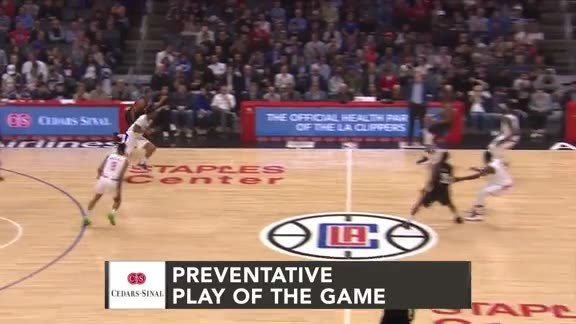 Cedars-Sinai Preventative Play of the Game | Clippers vs. Rockets (4.3.19)