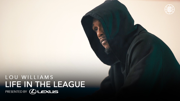 Lou Williams' Relationship with Music | Life in the League