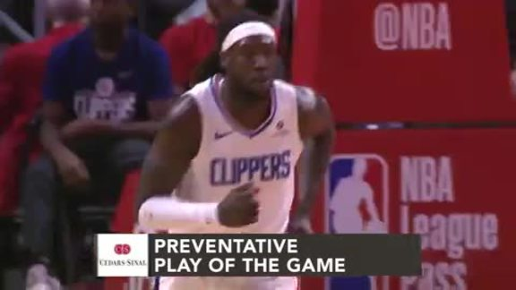 Cedars-Sinai Preventative Play of the Game | Clippers vs. Jazz (4.10.19)