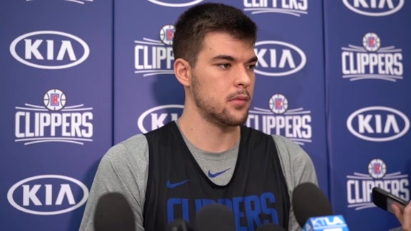 Media Availability | Ivica Zubac (4.20.19)