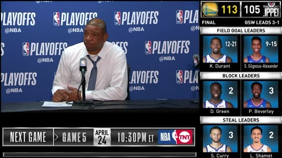 Post-Game Sound | Doc Rivers (4.21.19)