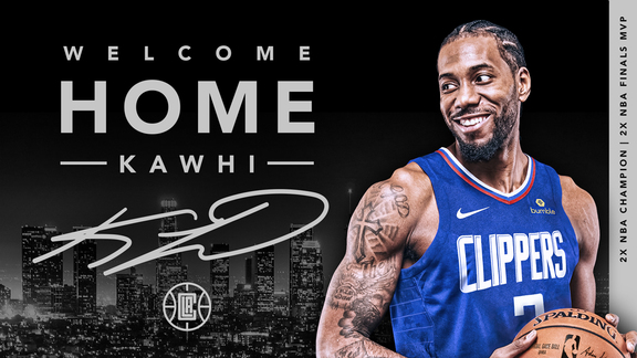 Welcome Home, Kawhi Leonard | LA Clippers