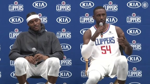 Media Day 2019 | Maurice Harkless and Patrick Patterson