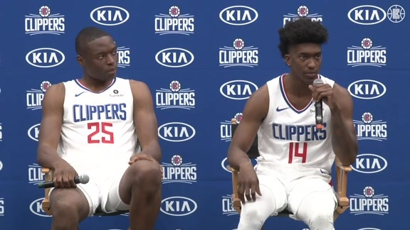 Media Day 2019 | Mfiondu Kabengele and Terance Mann