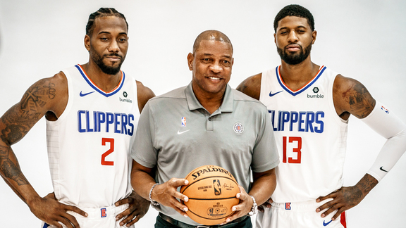 Behind-the-Scenes at Clippers Media Day 2019