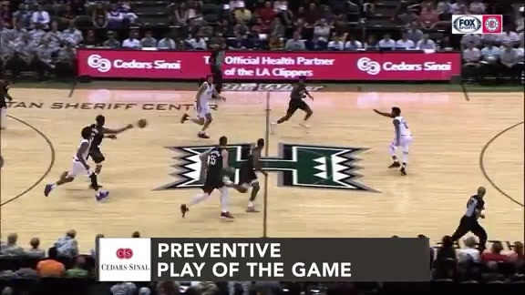 Cedars-Sinai Preventive Play of the Game | Clippers vs. Rockets (10.03.19)