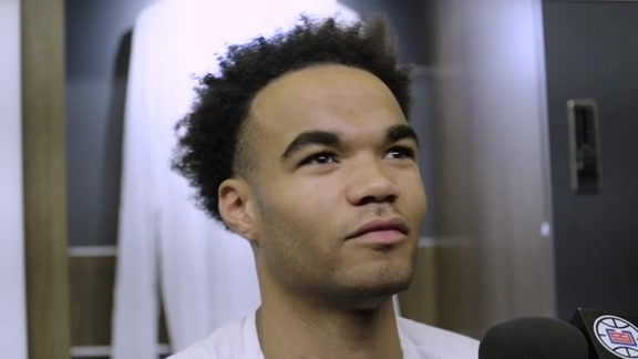 Post-Game Sound | Jerome Robinson (10.13.19)