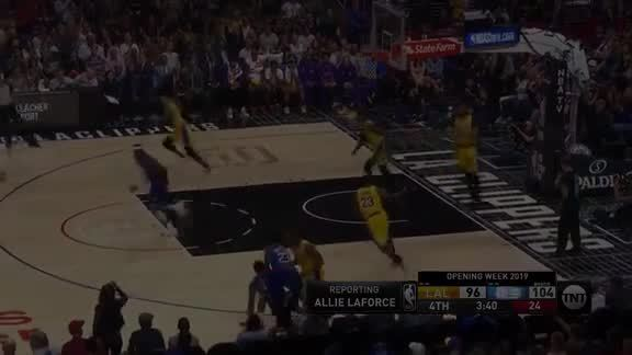 Leonard Fakes and Fades Over James (10.22.19)