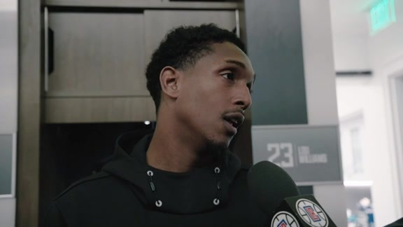 Post-Game Sound | Lou Williams (10.28.19)
