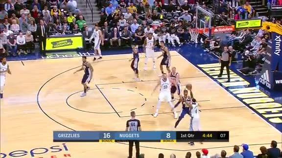 Gasol scores 22 pts against Nuggets