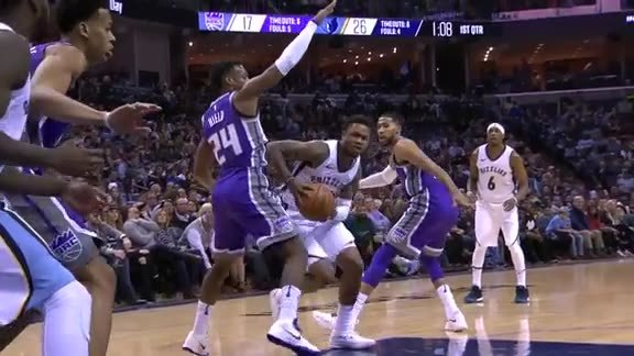 Ben McLemore scored 21 points off the bench
