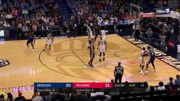 Selden scores 31 points against Pelicans