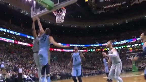 Gasol gets a big block