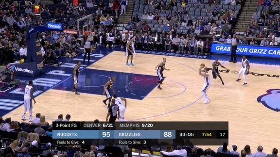 Marc Gasol for three