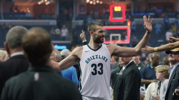 Mike Conley and Marc Gasol MVP Renewal message