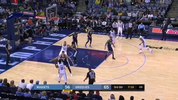 Grizzlies vs. Nuggets highlights 3.17.18
