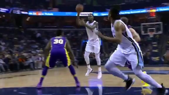 Grizzlies vs. Lakers highlights 3.24.18