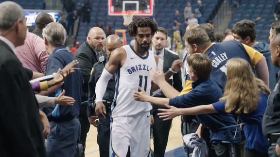 Mike Conley MVP Renewal message