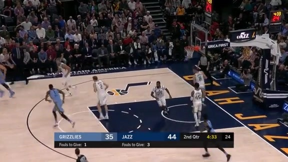 Marc Gasol scores 28 points against Jazz