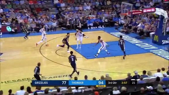Brooks catches fire for career-high 36 points in OKC